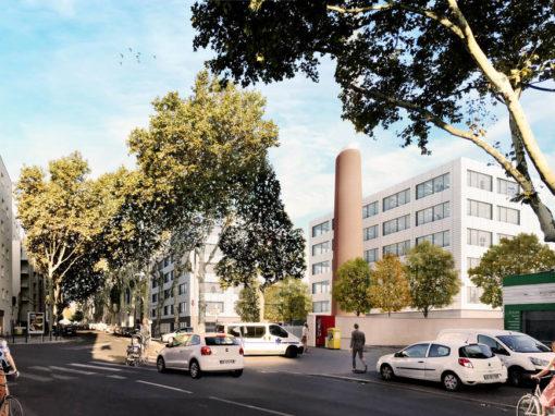 Bureaux Villeurbanne 6233 m²