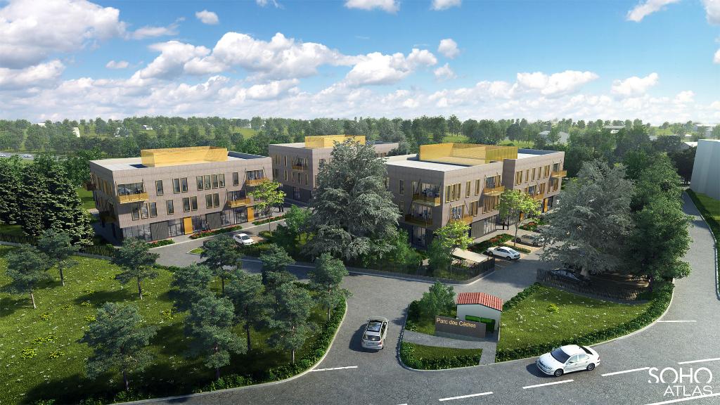 Bureaux  – Saint Genis Laval  – 5000 m2 divible à partir de 98 m²