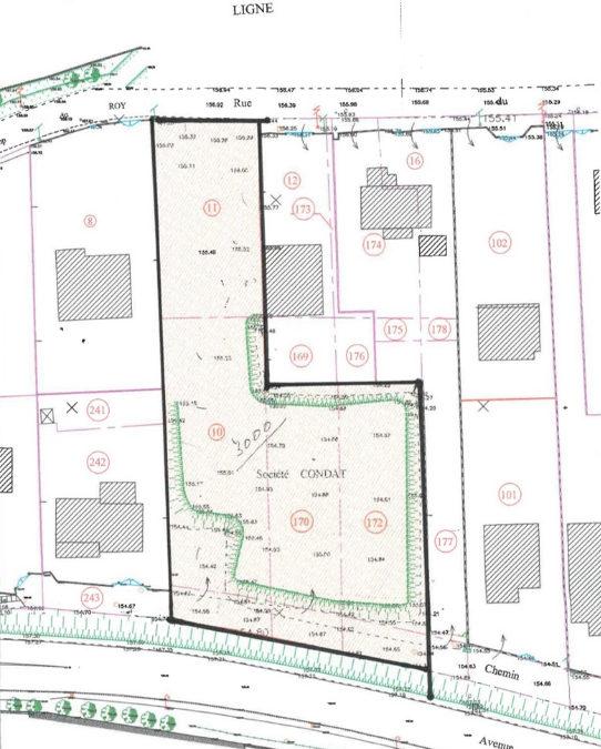 Terrain Chasse Sur Rhone 2700 m²