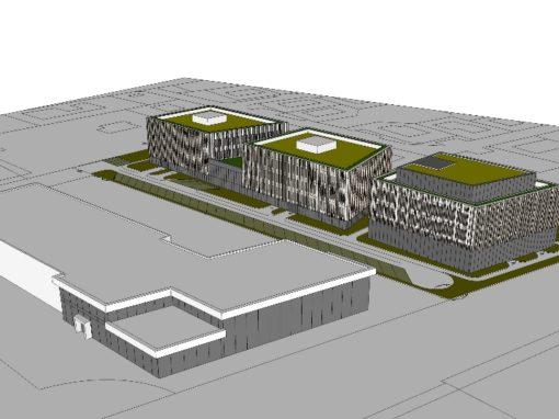 Bureaux Meyzieu (proche du stade) 7 000 m² divisibles à partir de 200m2