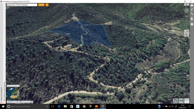 FONCIER A VENDRE   SUD FRANCE  272 260 m2
