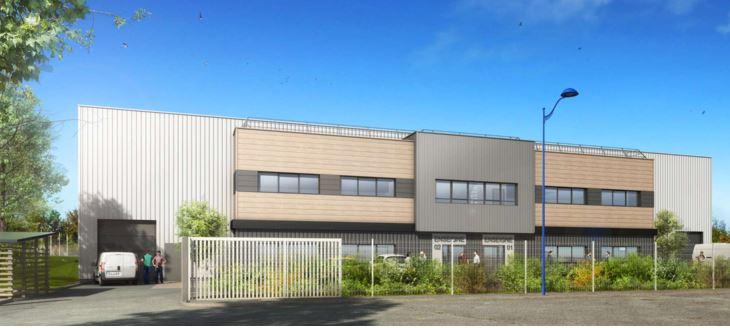 Local d'activité NEUF à vendre de 1062 m2 à Colombier Saugnieu